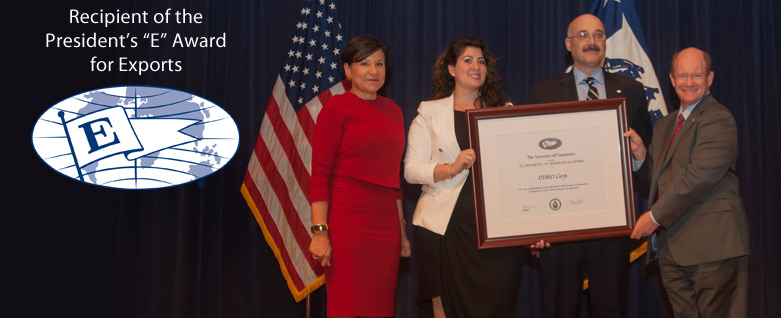 "DIMO Corp Recipient of the President's ""E"" Award for Exports"