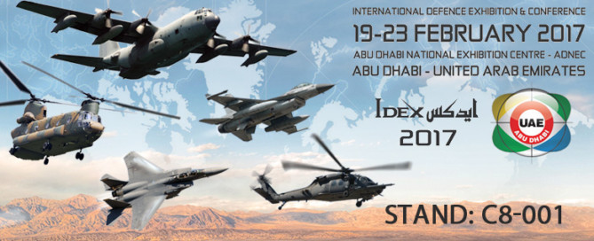 2017 International Defence Exhibition & Conference - IDEX