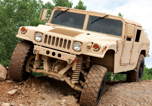 Military Vehicle Restraints